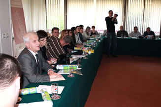 Image representative coalition in one of the round tables held in 2014